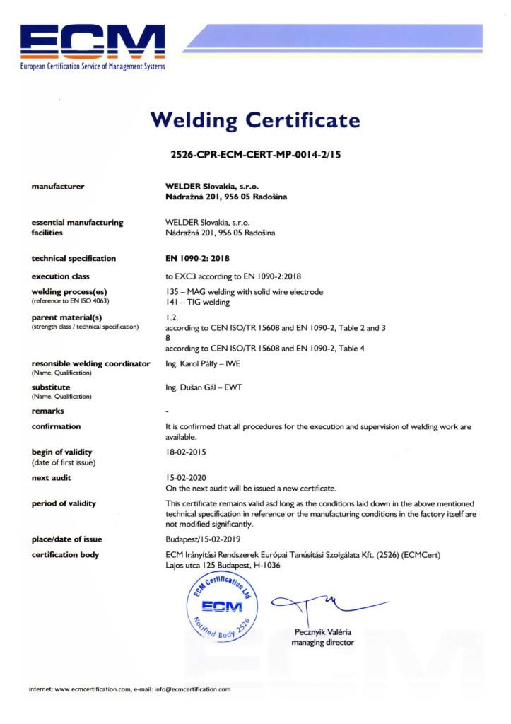Welding Certificate ECM -page-001